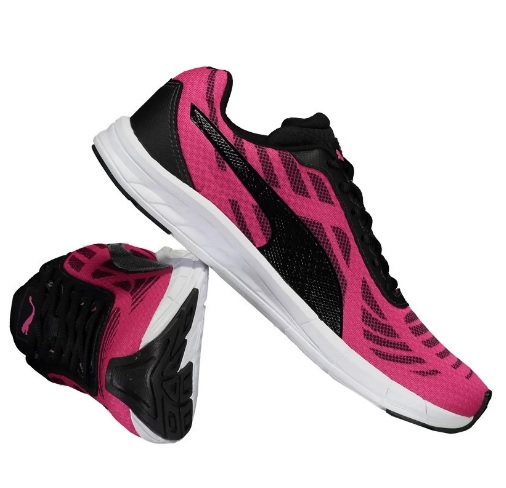 tenis puma rosa - Tênis Puma Meteor BDP - R$109,90