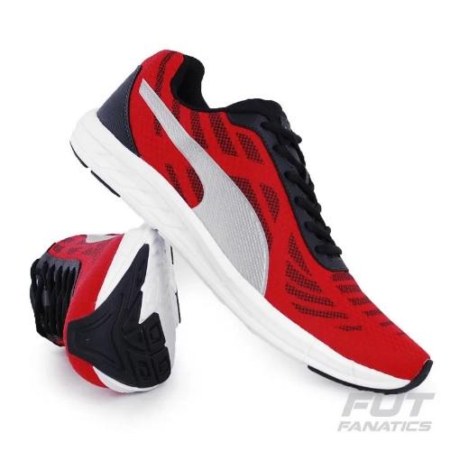 tenis puma vermelho - Tênis Puma Meteor BDP - R$ 129,90