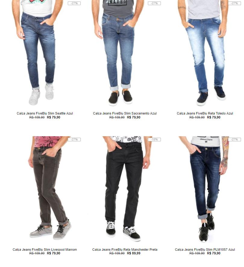 calca jeans - Kanui - 3 Calças por R$199