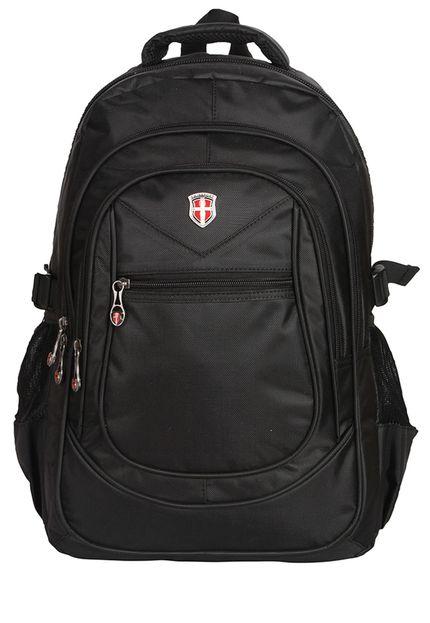 mochila swisssport - Mochila Swissport Hightech Zíper - R$ 89,90