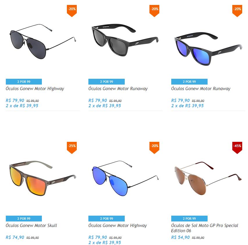 oculos 99 - Netshoes - 2 Óculos por R$99