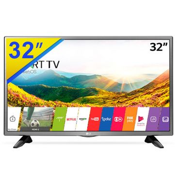 "smart tv - TV LED Smart 32"" LG - R$ 1009,00"