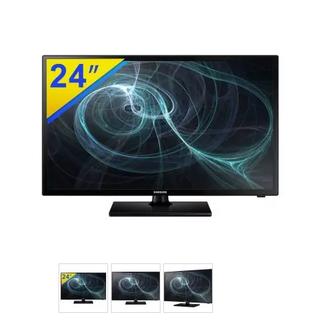 "tv led - TV LED 24"" SAMSUNG Monitor - R$ 649,90"