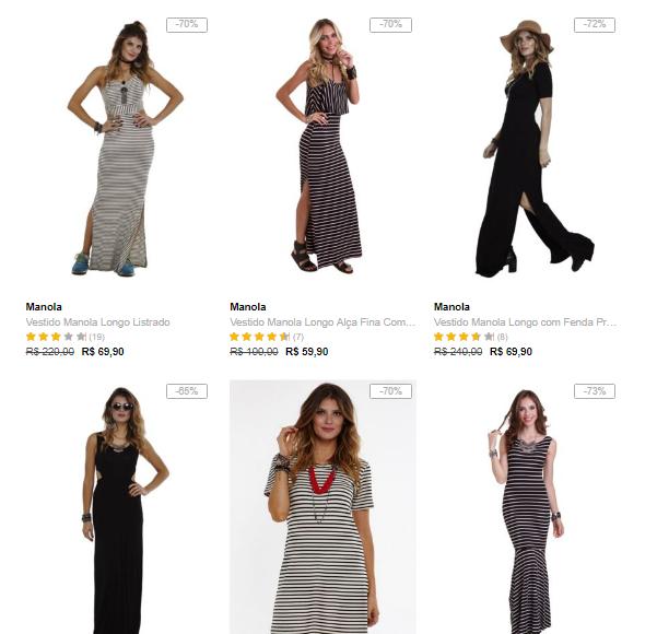 vestidos - Dafiti - 3 Vestidos por R$99