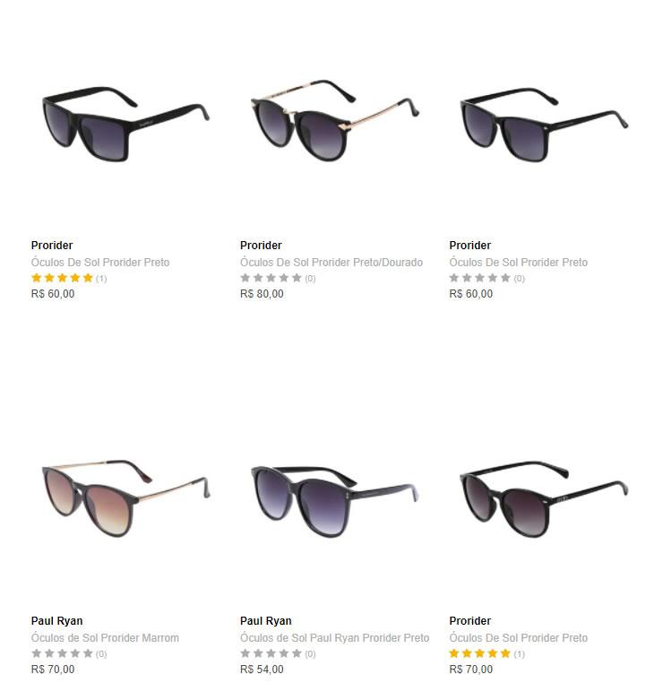 oculos 2 - Dafiti Feminino - 2 Óculos por R$99