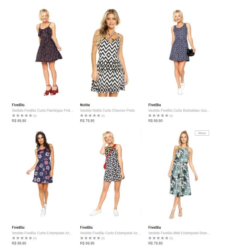 vestidos - Dafiti - 3 Vestidos por R$149