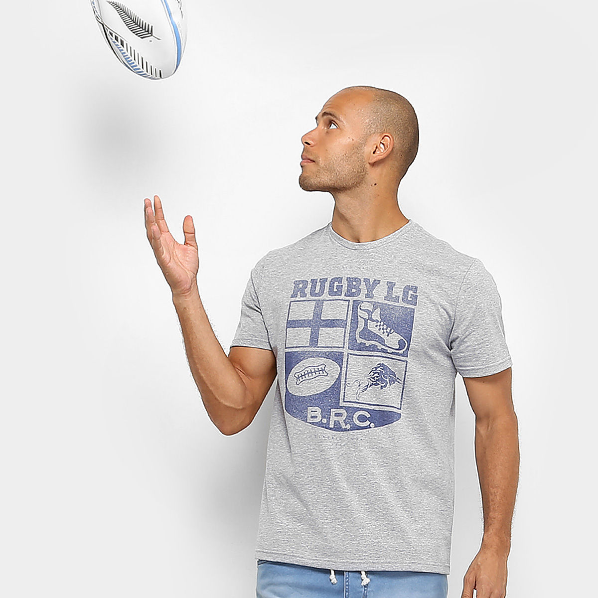 C62 1704 188 zoom1 - Camiseta GONEW Rugby College Masculina - R$ 26,91
