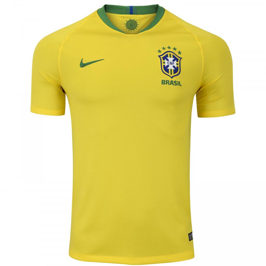 camisa da selecao brasileira i 2018 nike masculina img - Camisa da Seleção Brasileira I 2018 Nike - R$ 249,99