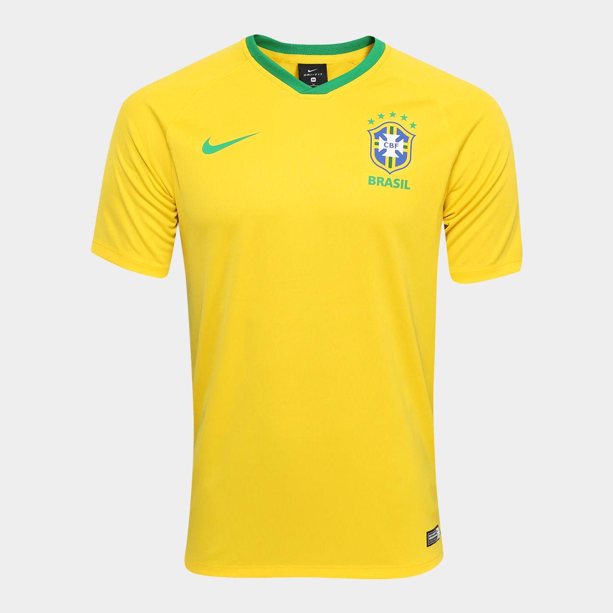 camisa nike torcedor brasil - Camisa Brasil 2018 Torcedor Nike - R$ 149,90