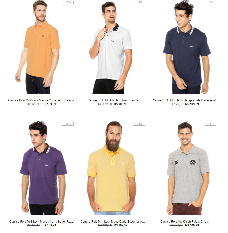 camisa - Kanui - Especial 2 Polos por R$99