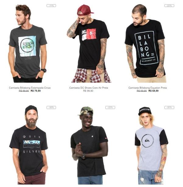 f35284e215 Kanui - 5 Camisetas DC por R$249 - Pirata dos Descontos