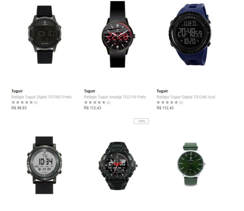 relogios - Dafiti - 2 Relógios por R$149