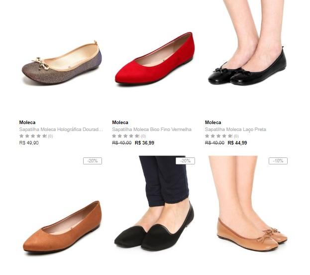 sapatilhas - Escolha 3 Sapatilhas na Dafiti por R$99*