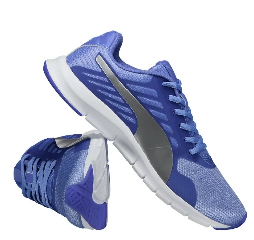 tenis puma azul - Tênis Puma Feminino Flexracer D Bdp - R$119,90