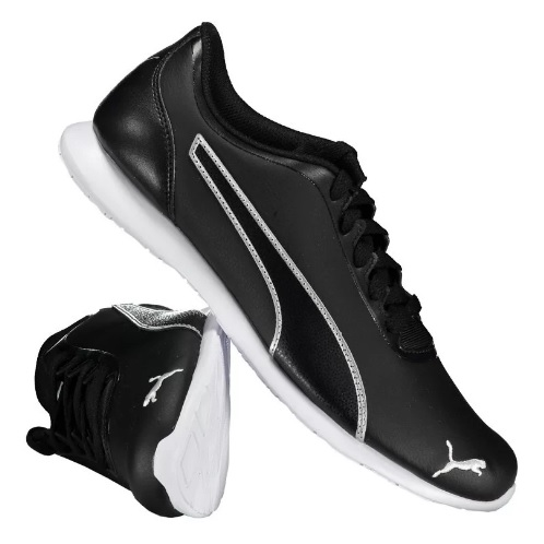 tenis puma preto - Tênis Puma Vega SL Feminino - R$ 119,90