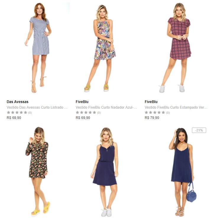 vestido - Dafiti - 3 Vestidos por R$99 - Novos modelos
