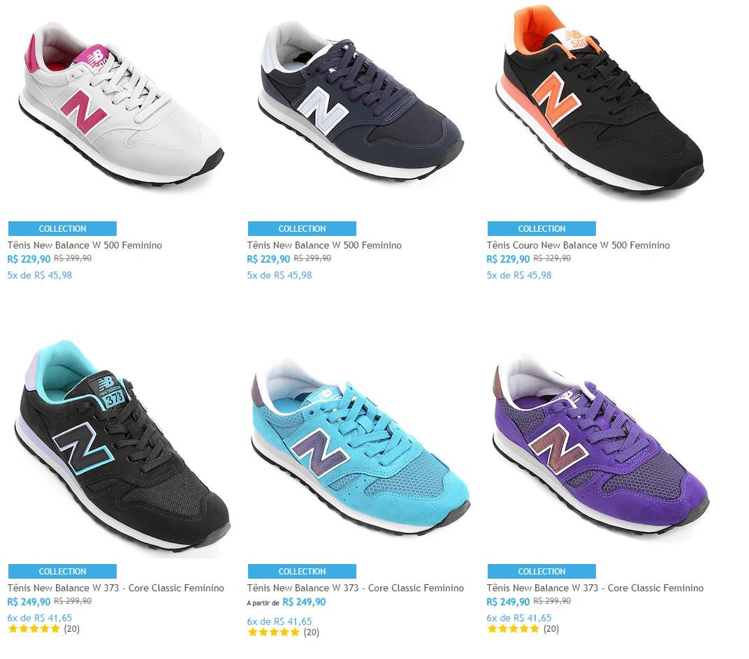 new balance - Netshoes - Saldão New Balance a partir de R$ 229,90