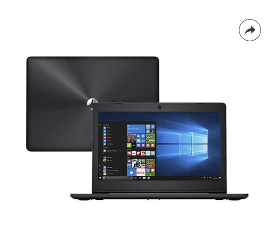 notebook positivo - Notebook Positivo Stilo One XC3630 - R$ 985,99