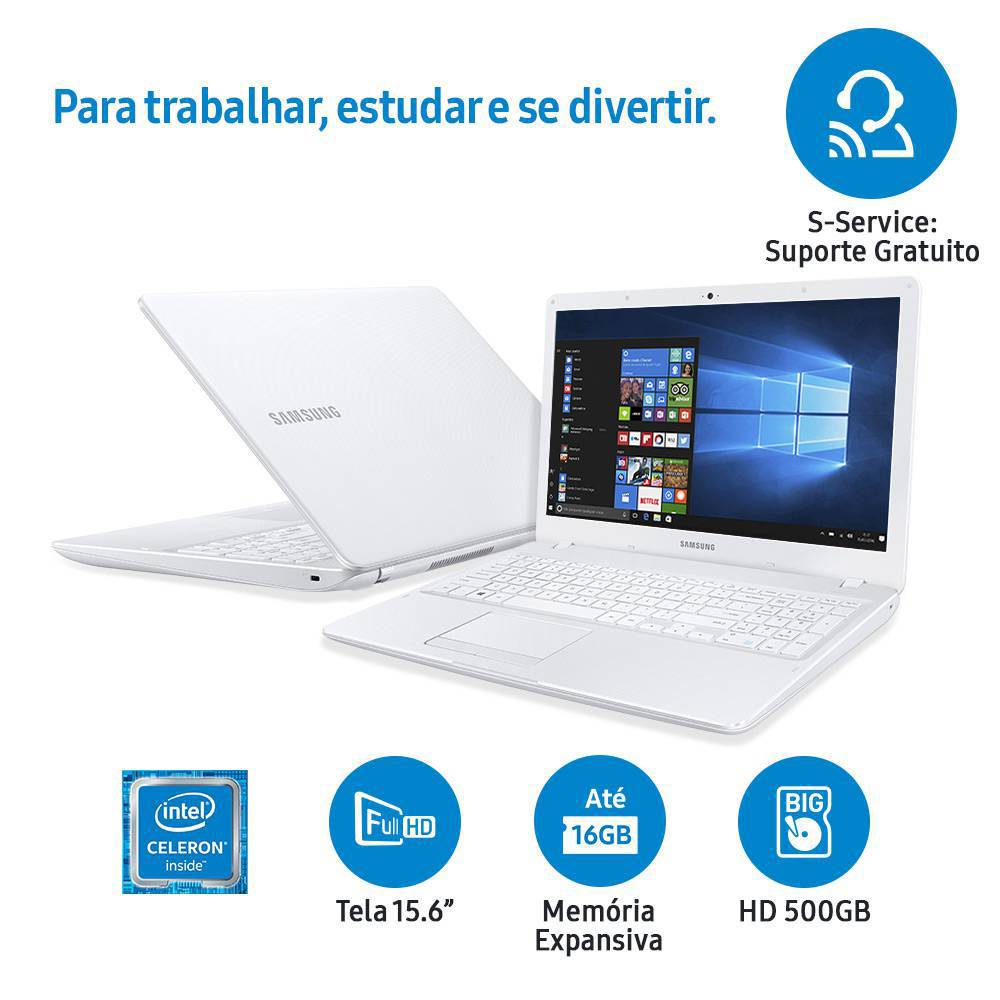 notebook - Notebook Samsung Essentials E21 - R$ 1.479,99