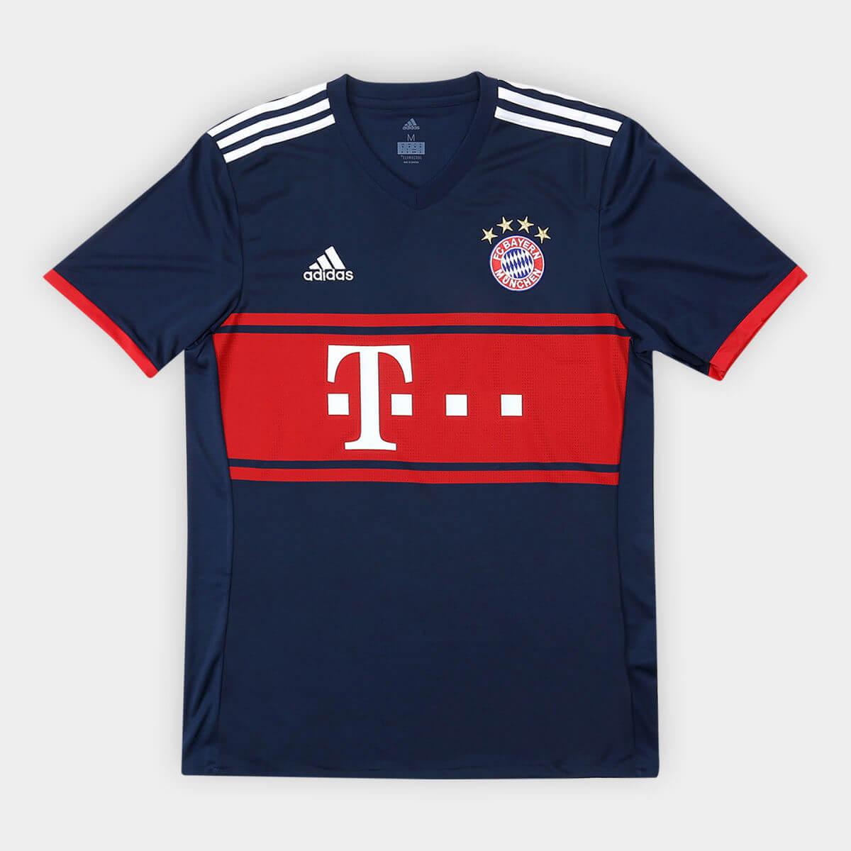 camisa bayern - Camisa Bayern de Munique 17/18 - R$ 135,92