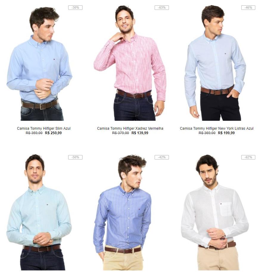 camisa tommy hilfiger - Kanui - Camisas Tommy Hilfiger 30% OFF