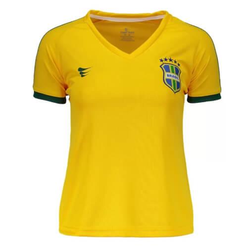 camiseta10 - Seleção - Camiseta do Brasil Barata