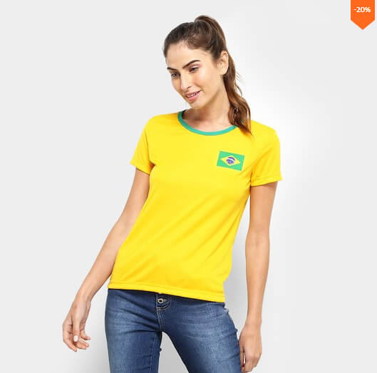 camiseta3 - Seleção - Camiseta do Brasil Barata