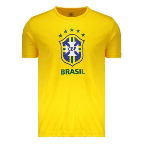 camiseta8 - Seleção - Camiseta do Brasil Barata