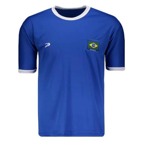 camiseta9 - Seleção - Camiseta do Brasil Barata
