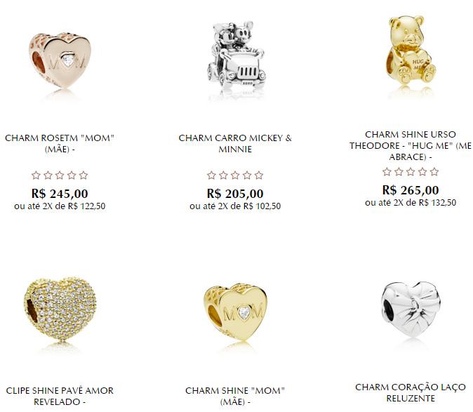 charms - Pandora - Charms a partir de R$99,00