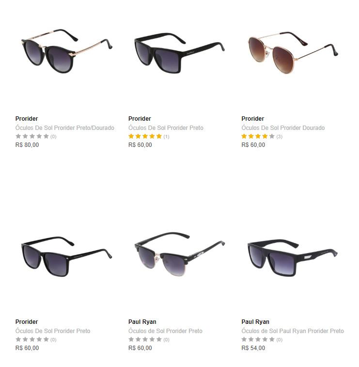 oculos - Dafiti - 2 Óculos Femininos por R$99