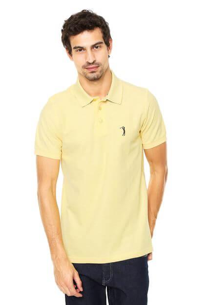 polo aleatory - Camisa Polo Aleatory Tradicional Reta - R$ 59,99