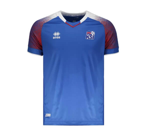 camisa errea islandia - Camisa Islândia Errea 2018 - R$ 239,90