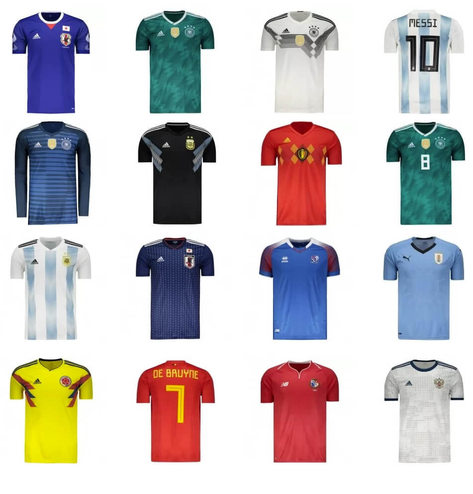 camisas selecoes - Futfanatics - Uniformes da Copa a partir de R 129 97f57a7235bc3