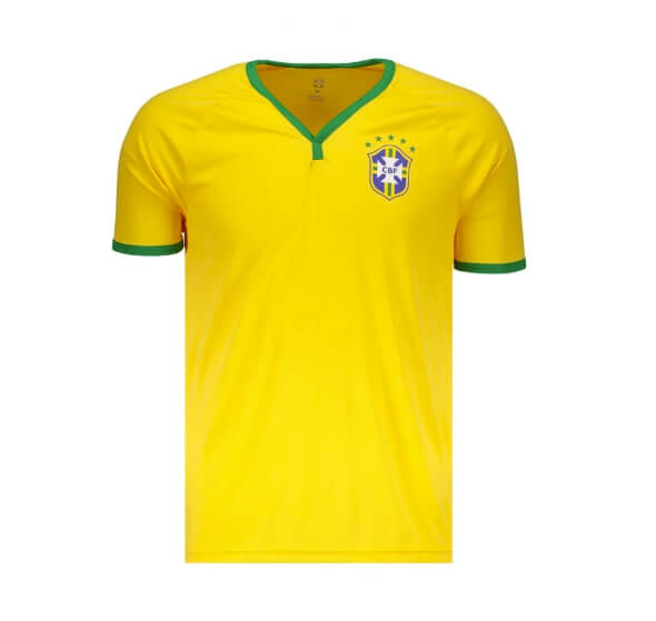 a374b2a255ecd camiseta brasil cbf - Futfanatics - Camisa Brasil CBF Amarela - R 59