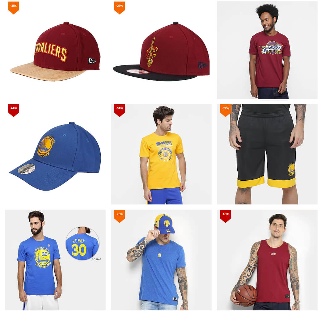 cavaliers warriors - Outlet Netshoes Final NBA - Cleveland x Warriors