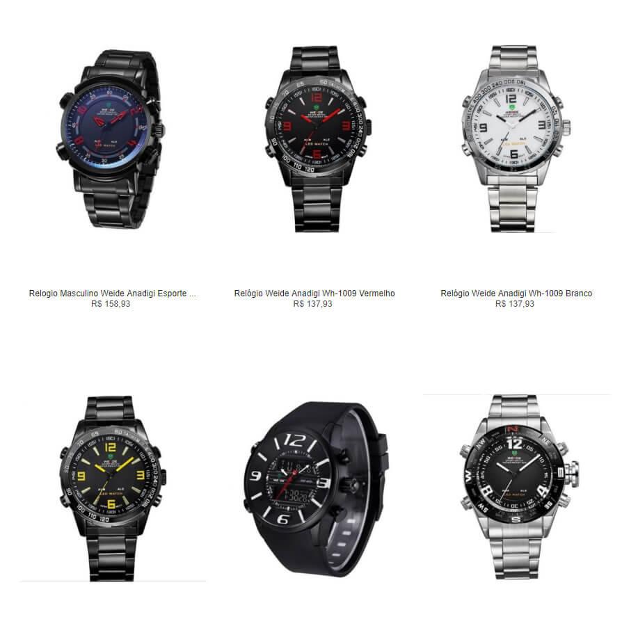 relogios - Escolha 2 Relógios na Kanui por R$149
