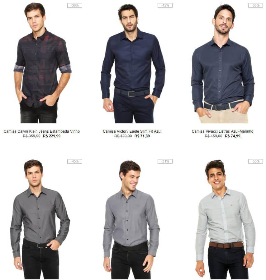 camisas - Dia dos pais Kanui - Camisas com até 50% OFF