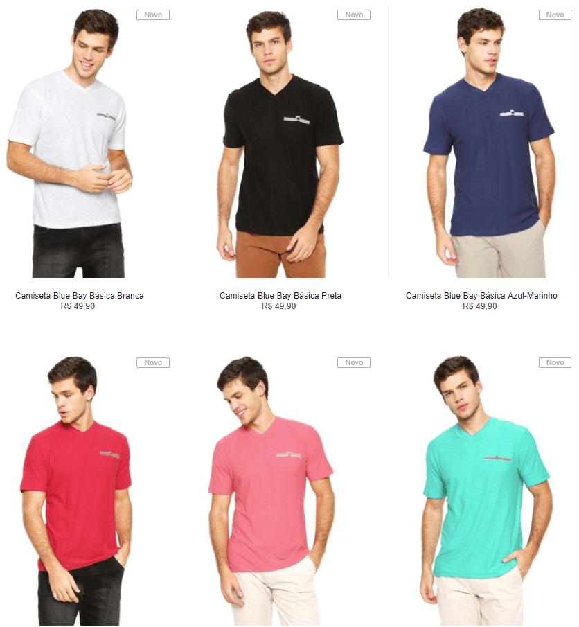 camisetas - Kanui - Especial Camisetas - 6 por R$149