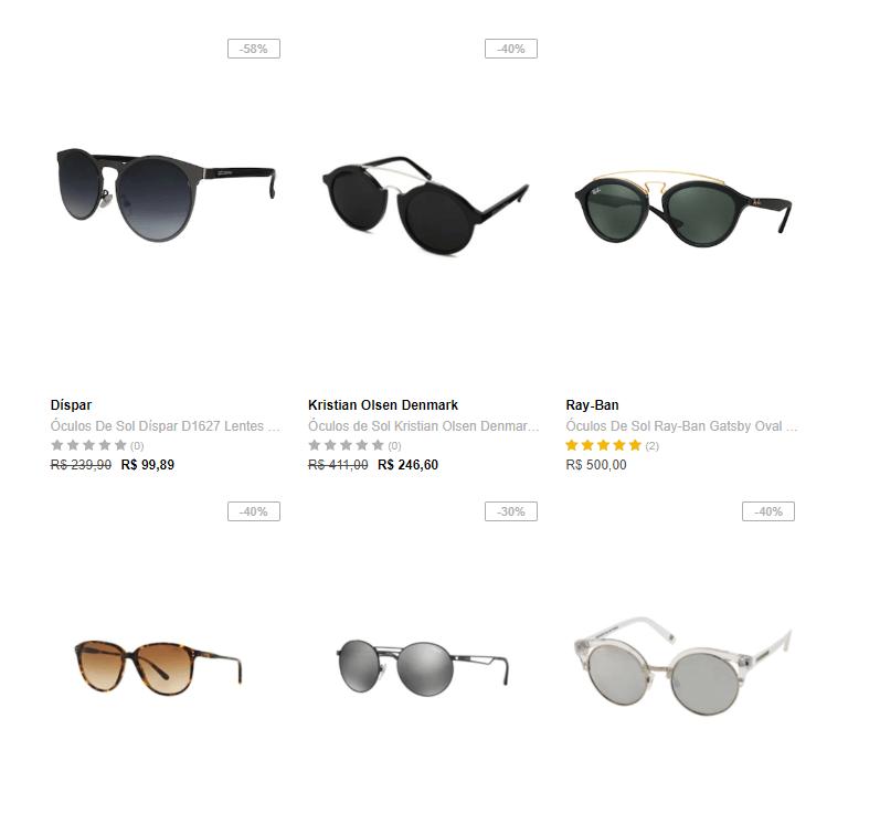 oculos - Saldão de Óculos na Dafiti - até 40% OFF