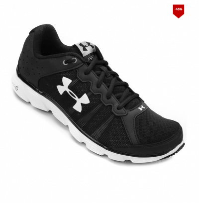tenis under armour 400x408 - Tênis Under Armour Micro G Assert 6 Masculino - R$159,99