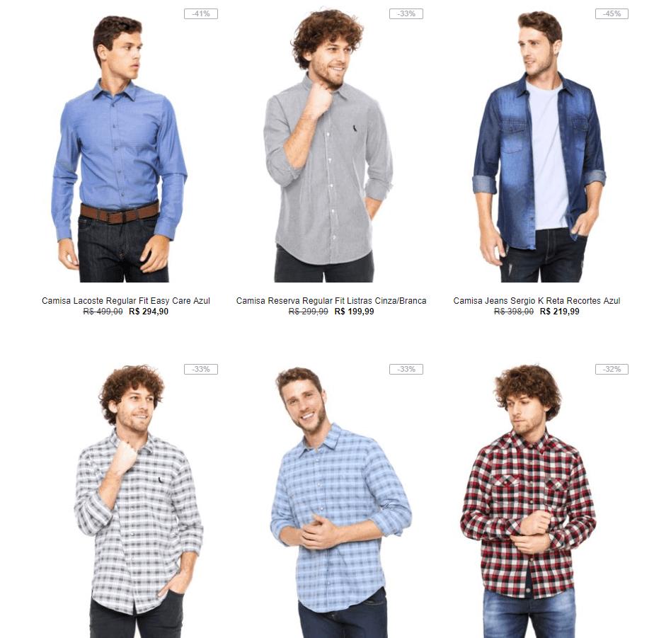 camisa - Kanui - Camisas com até 50% OFF - Dia dos pais