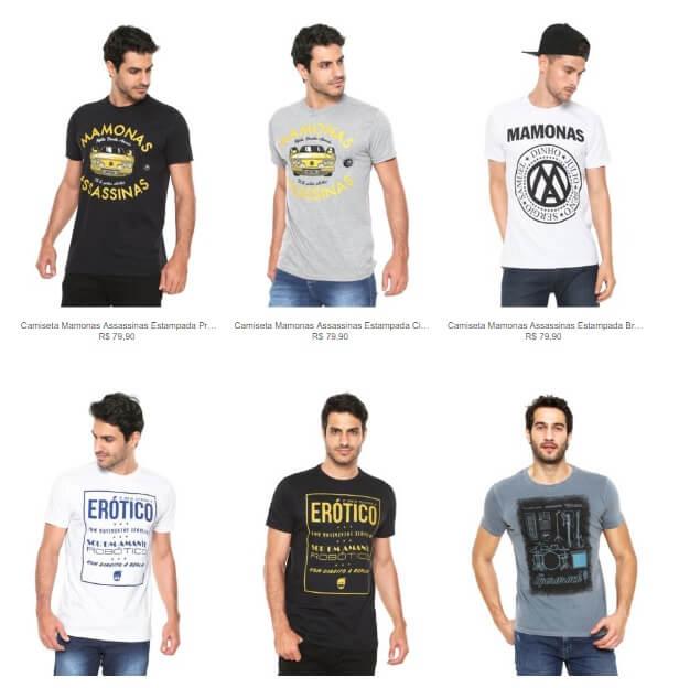 camisetas tematicas - Kanui - Compre 1 camiseta temática leve 2