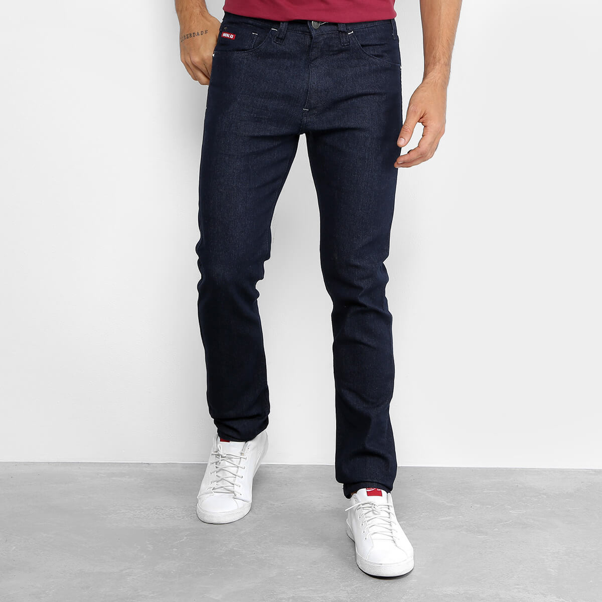calca fatal - Calça Jeans Skinny Fatal Clássica - R$ 76,49