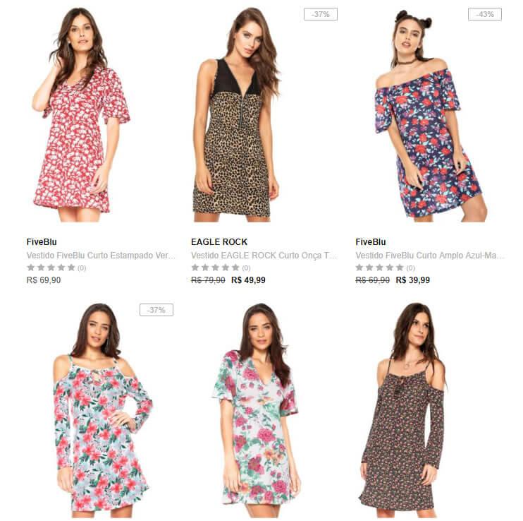 vestido - Dafiti - Compre 1 Vestido Leve 4