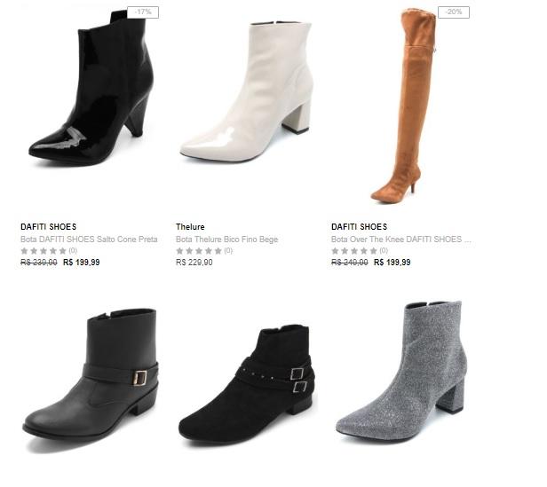 botas - Compre 1 Bota Leve 3 na Dafiti
