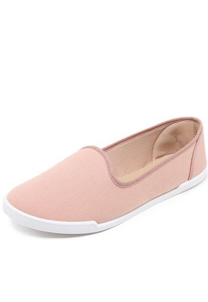 moleca slipper moleca recortes rosa - Slipper Moleca Recortes Rosa - R$19,99
