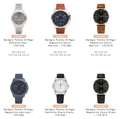 relogios vivara - Vivara - Relógios Tommy Hilfiger novos modelos