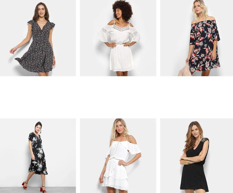 vestidos 1 - 2 Vestidos na Zattini por R$99,90