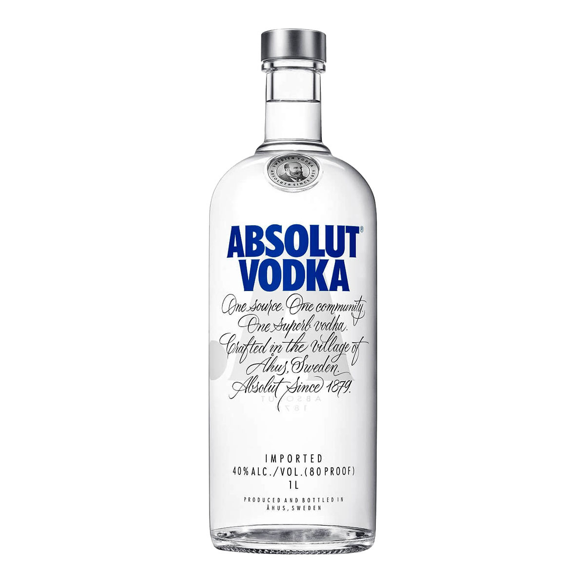 absolut vodka - Vodka Absolut Original 1 Litro - R$72,90